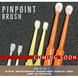 PinPoint Brush Set 6 pcs.