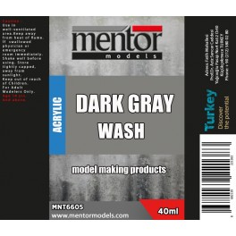 Dark Grey Wash