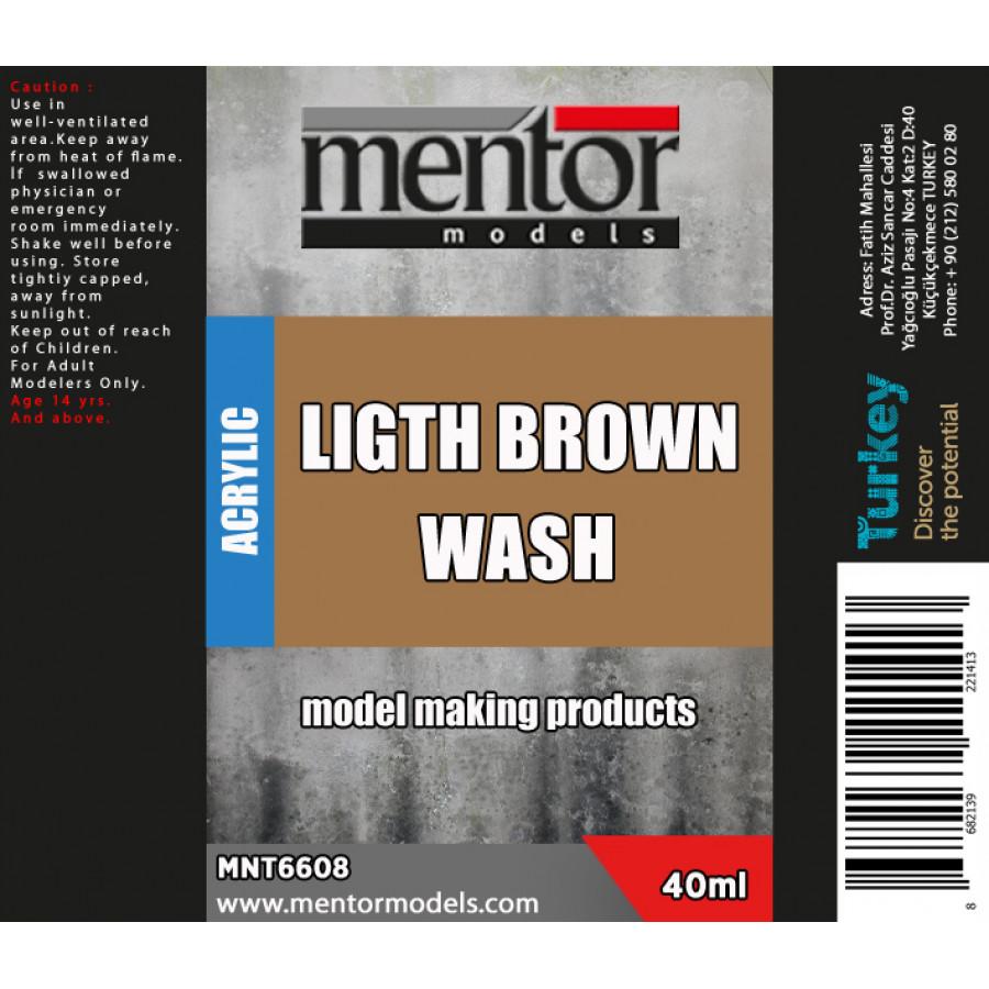 Light Brown Wash