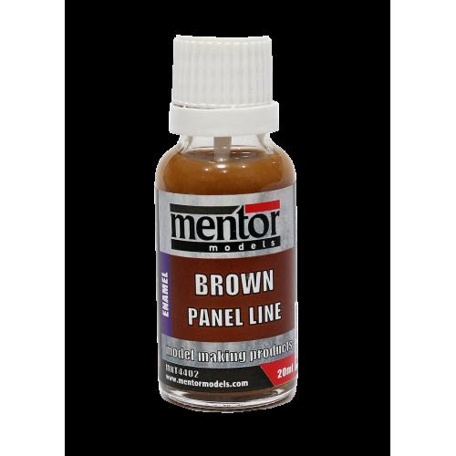 Brown Panel Line